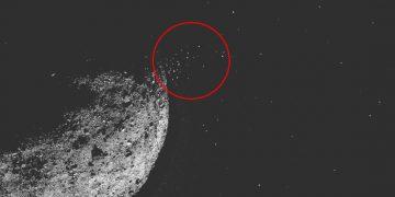 Bennu el «asteroide la muerte» está lanzando partículas en erupción y los científicos no pueden explicarlo