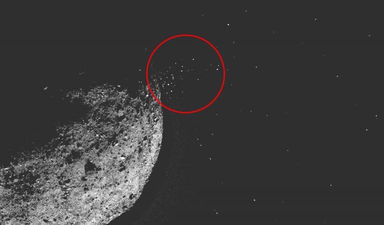 Bennu el «asteroide de la muerte» está lanzando partículas en erupción y los científicos no pueden explicarlo