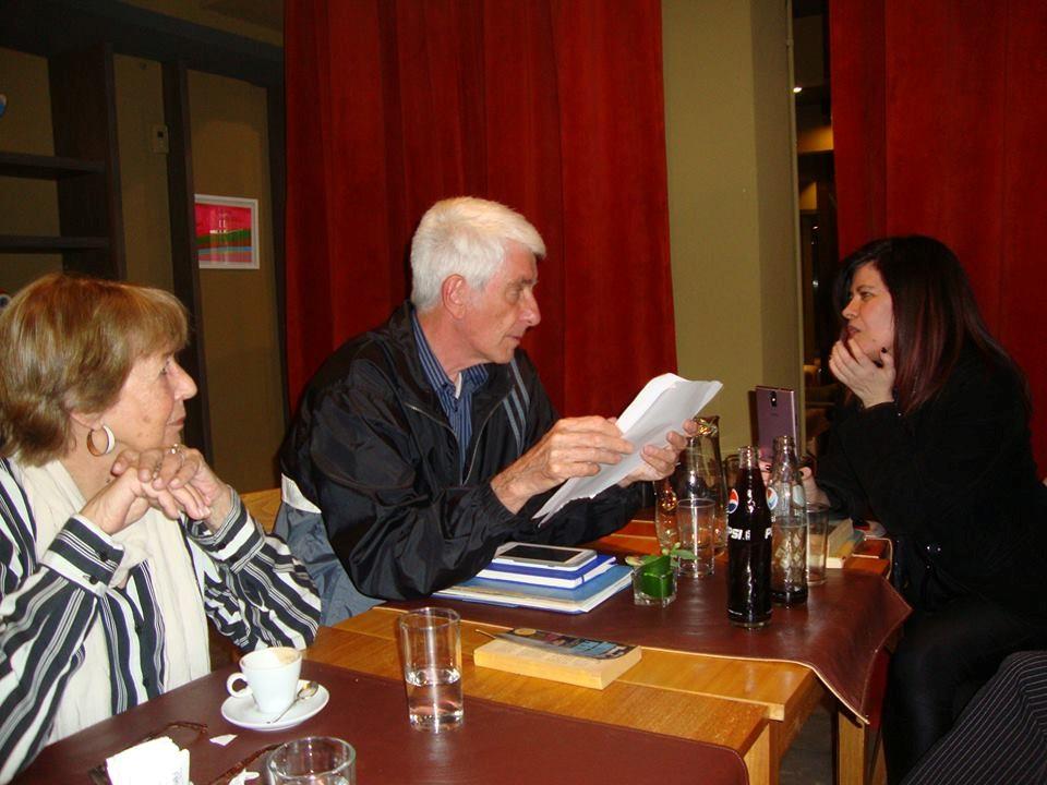 La poderosa mirada de Jacques Vallée, junto a ésta escritora, y con la presencia de mi amiga y colega, Bettina Allen. Impacto en la retina!
