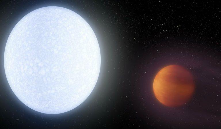 Crean una atmósfera alienígena en nuestro planeta
