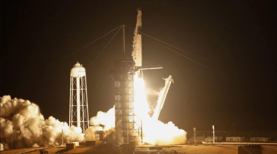 El vuelo no tripulado fue lanzado con dirección a la Estación Espacial Internacional