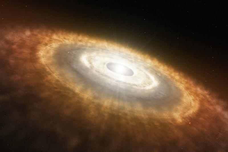 Los objetos interestelares podrían ayudar a formar planetas al caer en los discos protoplanetarios