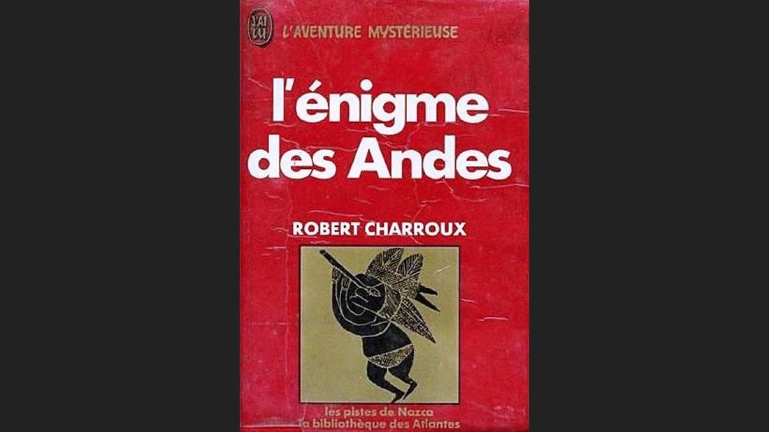 Portada del libro «El Enigma de los Andes», 1974, de Robert Charroux