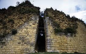 La fortaleza de Kuélap, ingeniería Chachapoyas. Construcción localizada, en la provincia de Luya, Andes Nororientales, Perú