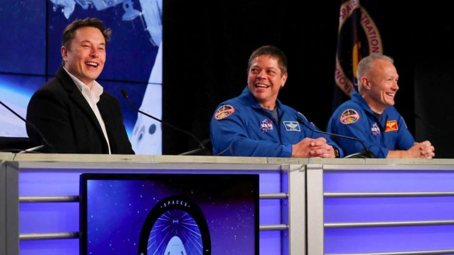 Elon Musk expresó sus felicitaciones al equipo encargado de llevar la cápsula Crew Dragon al espacio