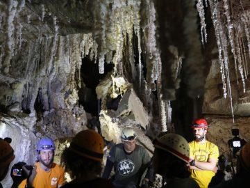Esta es la cueva de sal más larga del mundo, tiene 10 kilómetros y está relacionada al relato de Sodoma y Gomorra