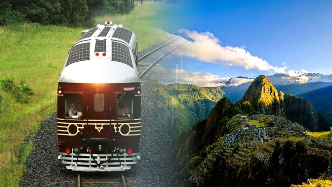 Este es el tren solar que conectará Machu Picchu y Argentina