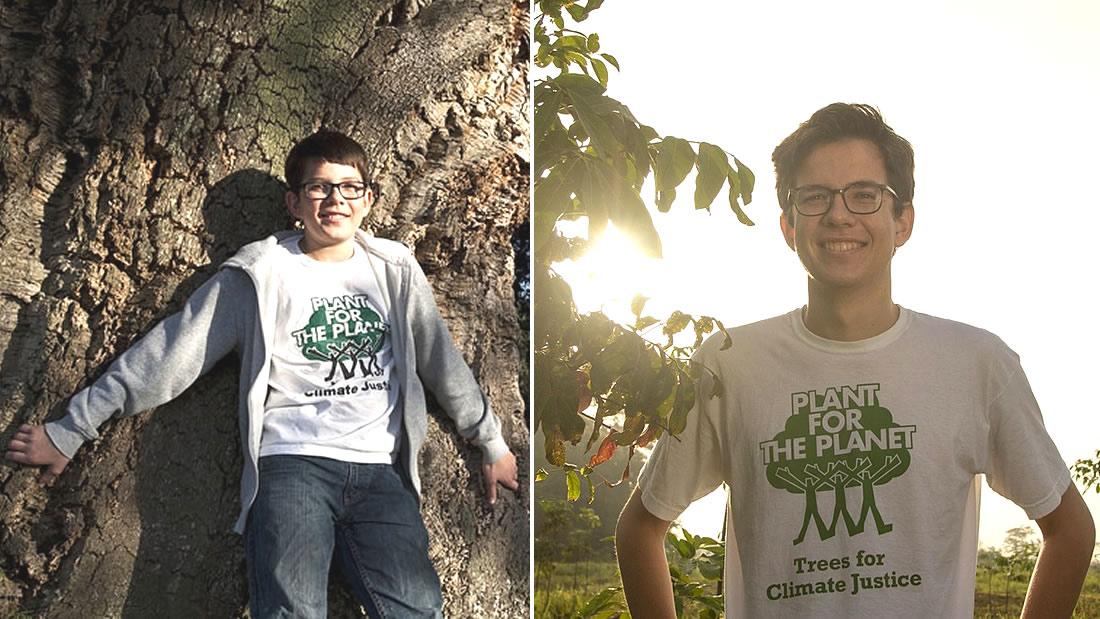 Este joven de Alemania ha plantado un millón de árboles desde que era un niño