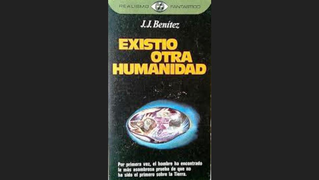 Portada del libro «Existió Otra Humanidad», 1975, de Juan José Benítez