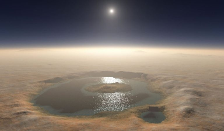 Hallan evidencia de un sistema de agua subterránea en Marte existente en la actualidad