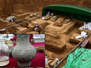 Hallan un ancestral «elixir de la inmortalidad» en China