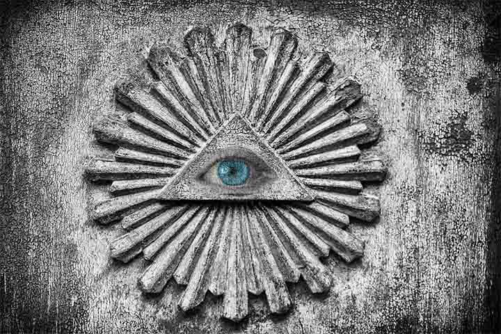 Símbolo de la élite mundial, los Illuminati, investigada por Faber-Kaiser