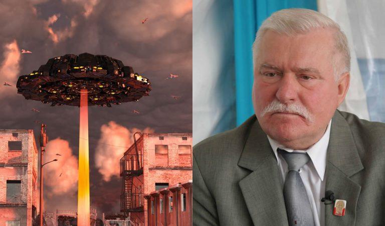 Lech Walesa: ex presidente de Polonia advierte de una invasión alienígena, pero…