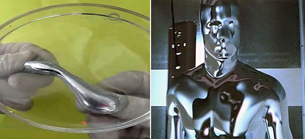 Los científicos piensan aplicar el metal líquido desarrollado en robótica