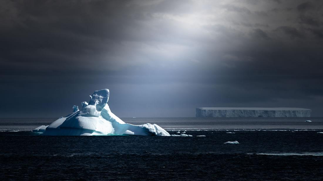 Miles de temblores de hielo sacuden a la Antártida, pero solo de noche
