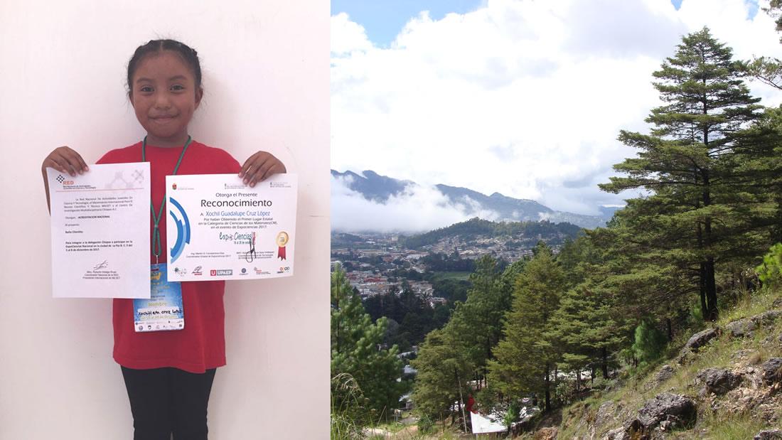Niña de ocho años gana un premio en ciencia nuclear por invento que soluciona un problema ambiental