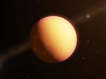 Observan un exoplaneta directamente por primera vez