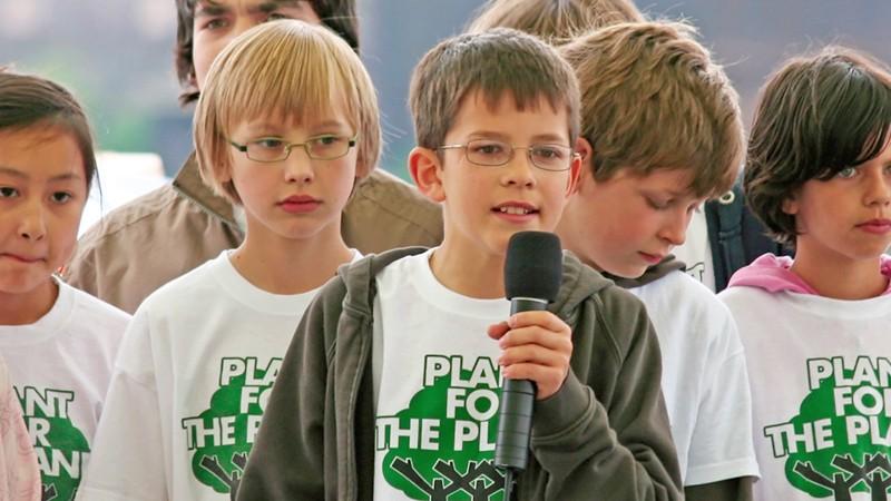 Desde muy pequeño, Felix Finkbeiner trabaja por salvar el planeta
