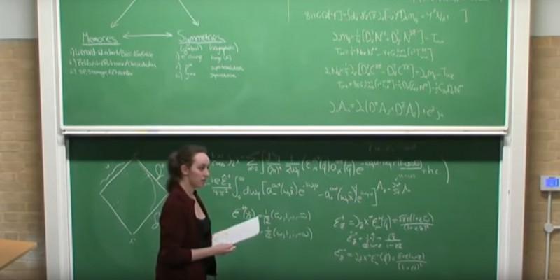 Sabrina Gonzalez Pasterski es considerada hoy la «nueva Einstein»