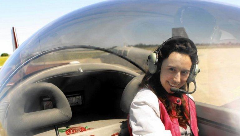 Sabrina Gonzalez Pasterski dispuesta a volar en el avión que construyó