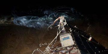 Supuesto satélite experimental cae en Baja California en México