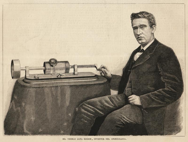 Edison habría construido una máquina con la que podía hablar con los muertos. En 1901 Waldemar Bogras grabó unas extrañas voces en Siberia con su apara