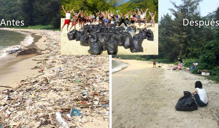 Trashtag Challenge: el nuevo reto viral que está limpiando las playas de todo el mundo