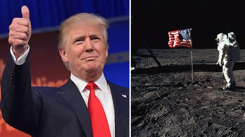 Trump ha pedido a la NASA que adopte una nueva mentalidad con el objetivo de ir a la Luna en los próximos 5 años