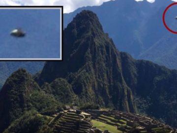 Turistas fotografían un OVNI sobre Machu Picchu en Perú