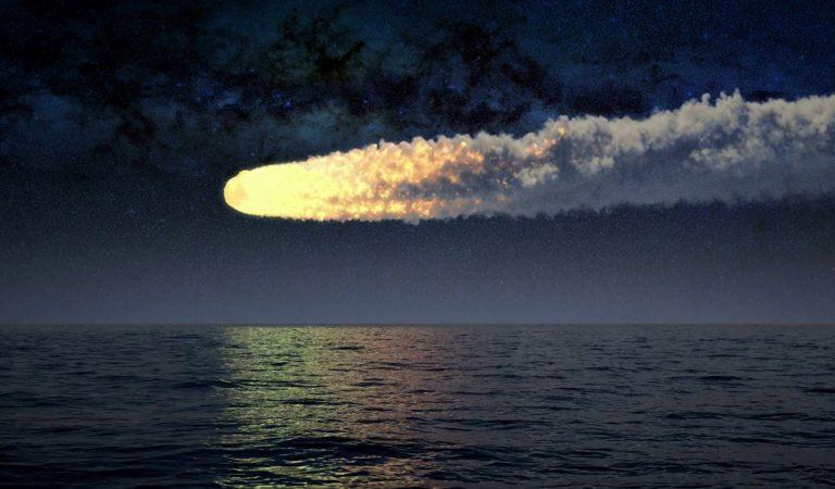 Un meteorito causó una explosión de 173 kilotones en el Pacífico y nadie se percató