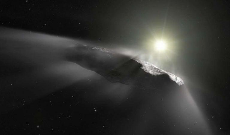 Un visitante interestelar como Oumuamua puede haber formado el núcleo de la Tierra