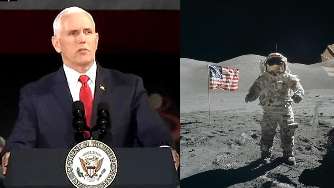 Vicepresidente de EE.UU. confirma que NASA enviará astronautas a la Luna en 2024