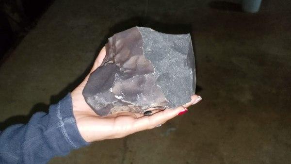 El meteorito hizo un agujero en el techo de una casa en Costa Rica