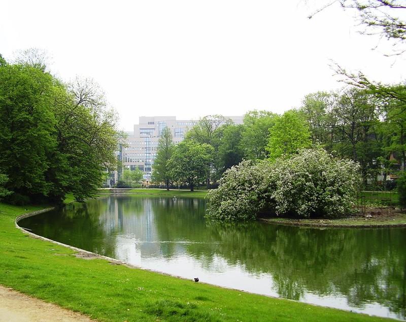 Parque Léopold en Bruselas