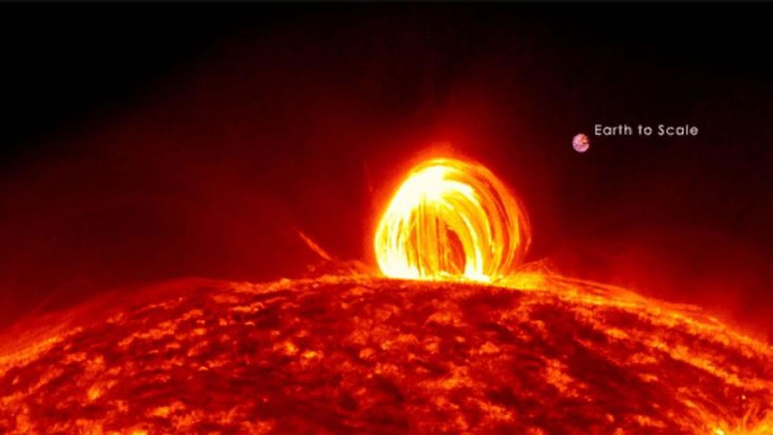 Astrónomos detectan estructuras gigantescas en el Sol causando una rara «lluvia de plasma»