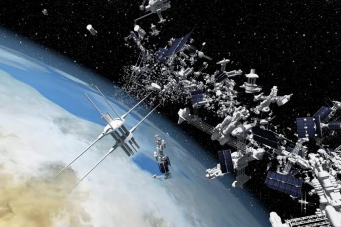 El exceso de basura espacial en la órbita de la Tierra podría causar graves problemas a futuro