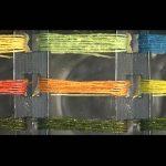 Científicos inventan «hilos inteligentes» que cambian de color cuando hay gases tóxicos en el aire