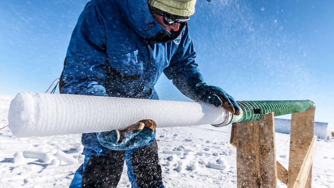 Científicos perforan el hielo más antiguo de la Tierra para revelar un antiguo misterio