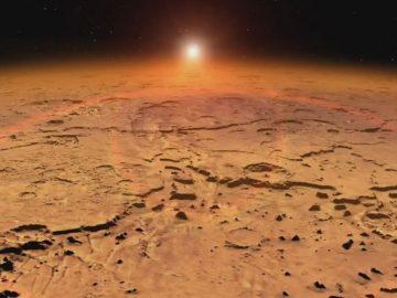 Confirman la existencia de metano en Marte