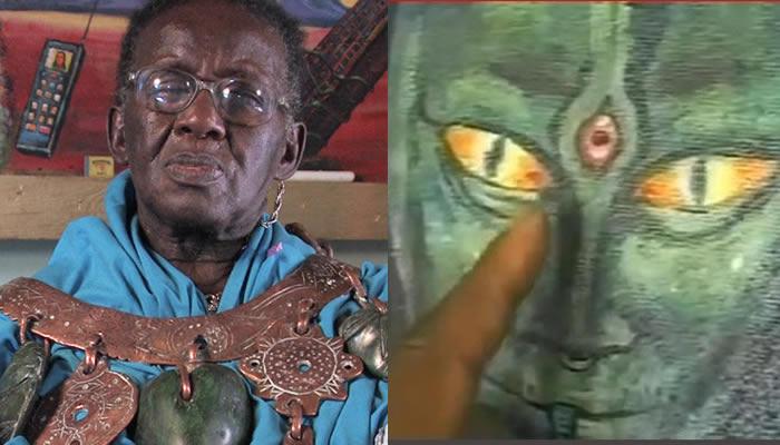 As revelações do xamã Credo Mutwa sobre as tradições de antigos grupos étnicos africanos falam de extraterrestres reptilianos conhecidos como Chitauri.