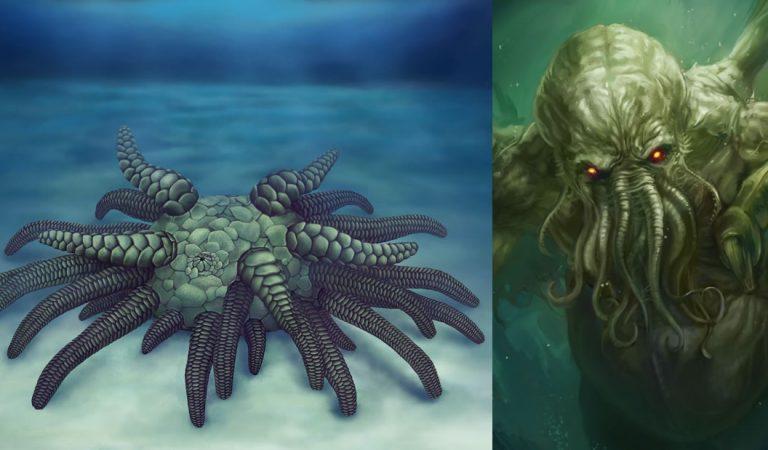 Cthulhu, el monstruo de H.P. Lovecraft, pero en miniatura, vivió en los océanos hace 430 millones de años