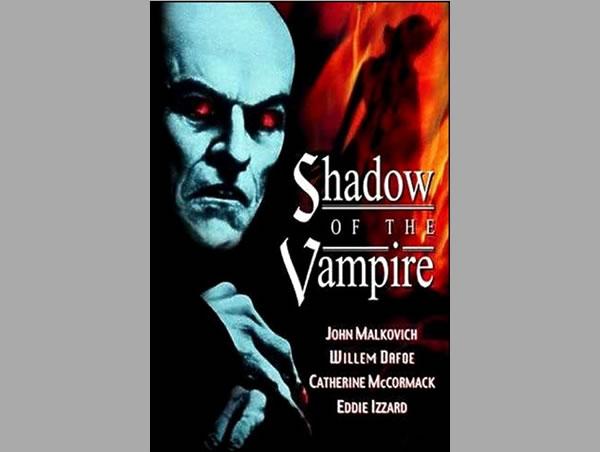 La Sombra del Vampiro, sorprendente film de 2001, con la magistral actuación de Willem Defoe