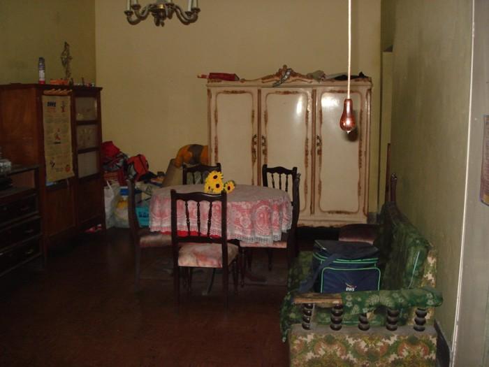 Dormitorio donde se encontraba la entrada al sótano