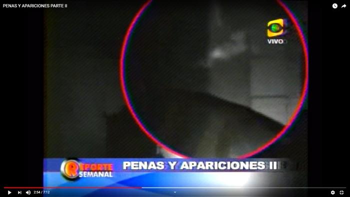 Imagen captada por la cámara de visión nocturna