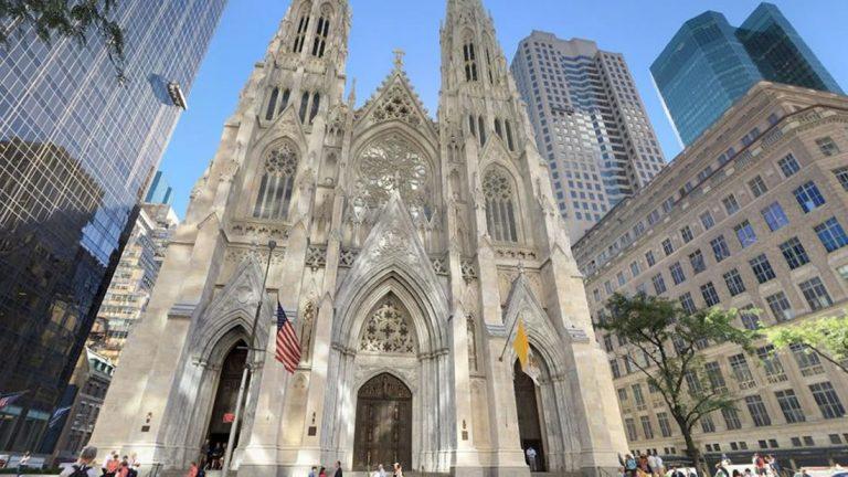 Intentan incendiar la Catedral de San Patricio en Nueva York