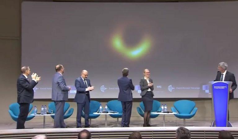 Esta es la primera imagen real de un agujero negro