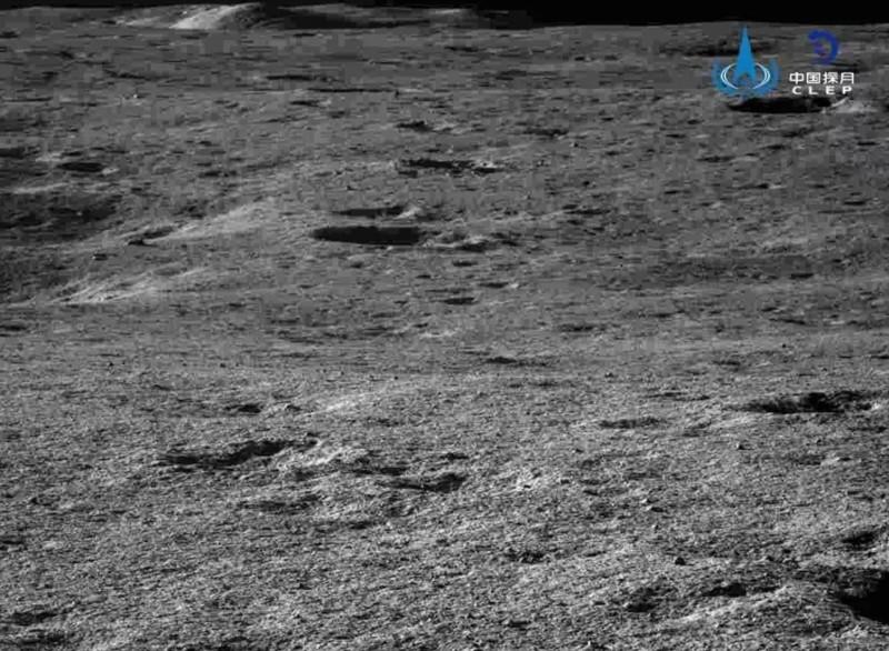 Cráteres pequeño dentro del cráter Von Kármán