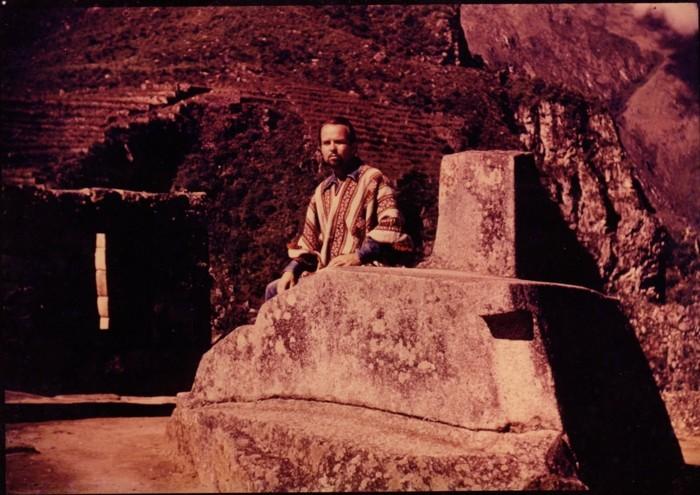 El enigmático George Hunt Williamson, recorriendo Machu Pichu, Perú