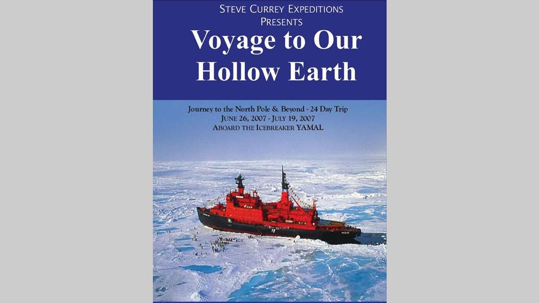 Anuncio oficial de la Expedición oficializada para 2007, que debió ser cancelada por la inesperada muerte de Steve Currey