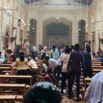 Ocho explosiones, centenares de muertos y tres iglesias destruidas en Sri Lanka
